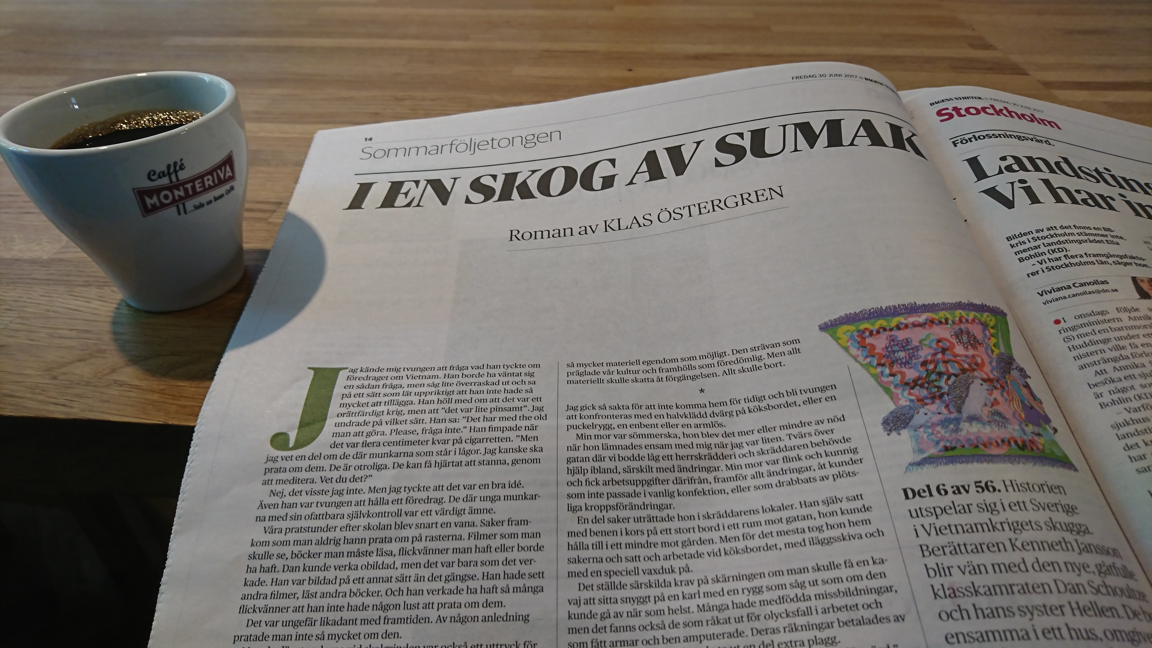 Dns reporter far pris for stockholmsbevakning